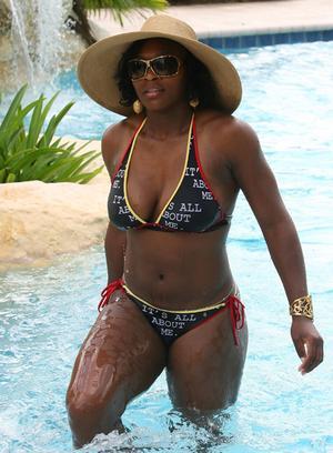 Bikini williams Serena venus
